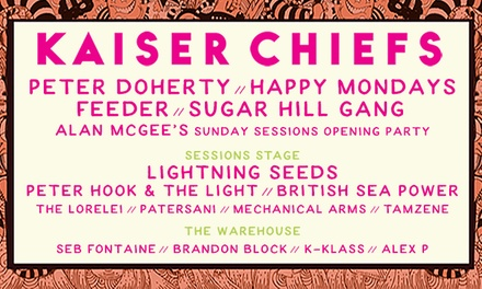 Sunday Sessions Scotland w/ Kaiser Chiefs on 24 June at Dalkeith Country Park (Up to 56% Off)