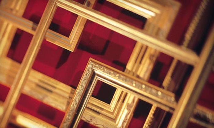 Quality Frames & Art - West Lake Hills: $49 for $100 Worth of Custom Framing at Quality Frames & Art