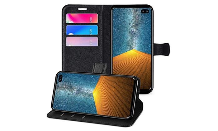 TitoloCover per Samsung Galaxy a portafoglio in pelle per vari modelli