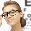 Visita e occhiali con lenti