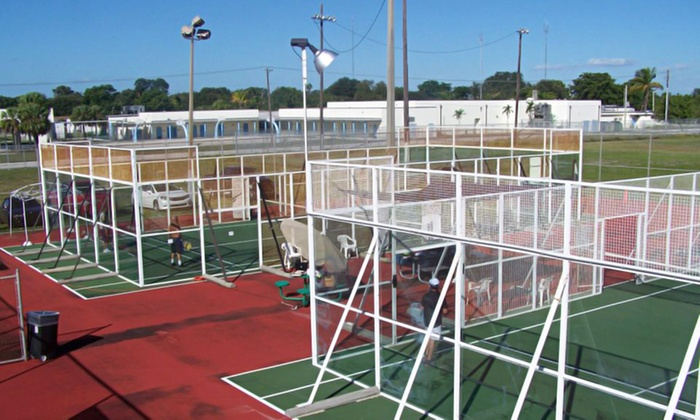 Miami Padel - Ives Estates: One or Two Two-Hour Court Rentals at Miami Padel (Up to 71% Off)