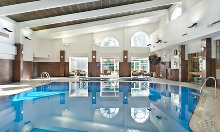 Fire and Ice Spa Day Pass with Afternoon Tea and Leisure Club Use for One or Two at the Belfry