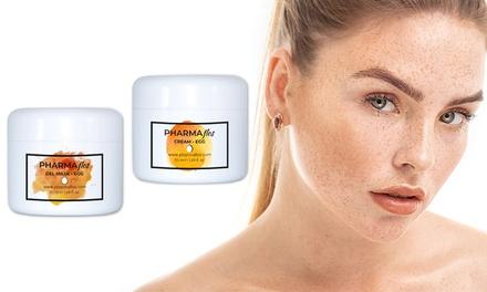Kit cosmetici all'uovo Pharmaflos