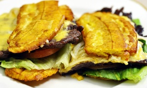 Cafe Pancho: $9 for $15 Worth of Cuban and Puerto Rican Cuisine at Cafe Pancho