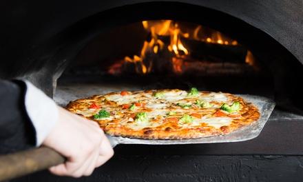 1 ou 2 pizzas larges de 33cm chacune au choix à la carte à emporter dès 5,90 € au restaurant L'Annexe