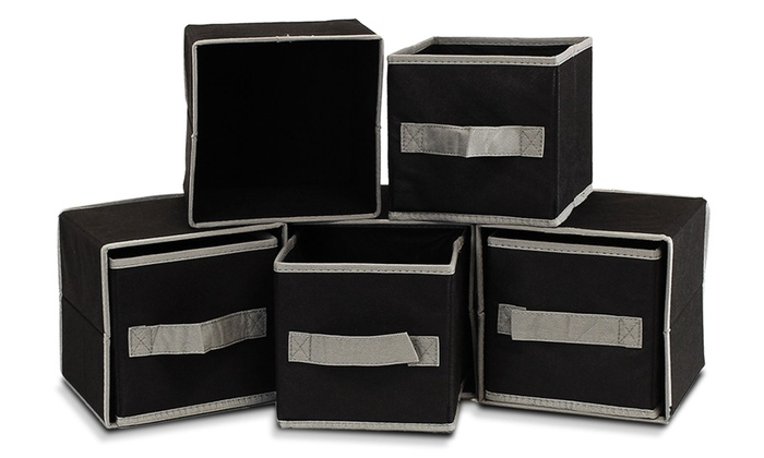 Furinno Fabric Mini Storage Cube Set (8 Piece): Furinno Drawer Type ...