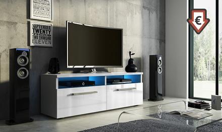 TV-Schrank mit LED in der Farbe nach Wahl (bis zu 62% sparen*)