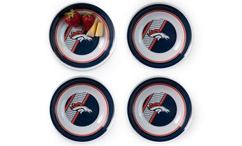 Duckhouse Sports NFL Melamine Plates or Bowls (4-Pack)