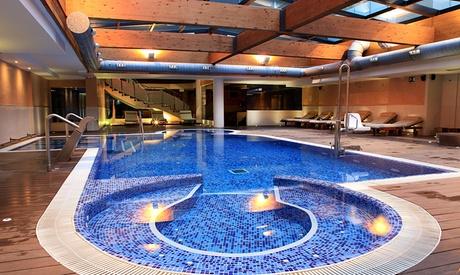 Circuito spa para 2 con opción a masaje, ritual y/o cena desde 19 € en Spa Minos – Hotel and Spa Villa Olímpica Suites