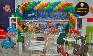 Buffet MegaBluum: Buffet MegaBluum – Jundiaí: festa infantil para 60 pessoas