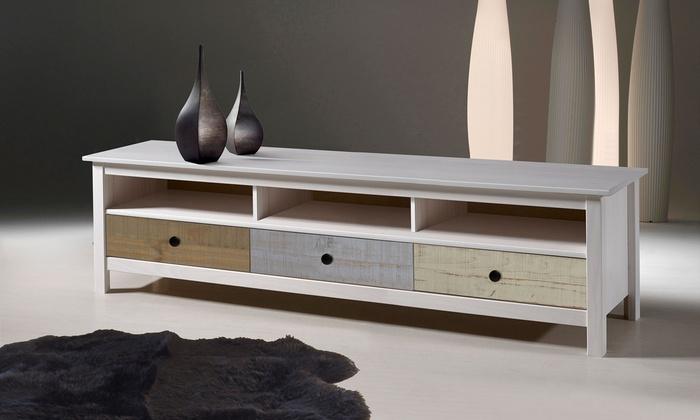 table salon et meuble tv betty color s groupon. Black Bedroom Furniture Sets. Home Design Ideas