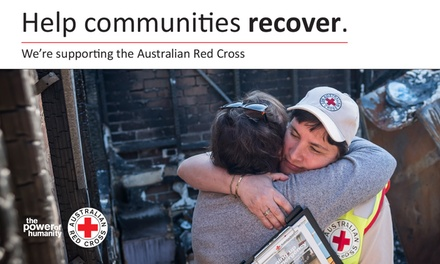 Donate Today: Australian Red Cross Disaster Relief and Recovery Fund