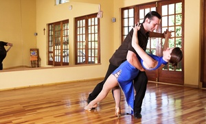 Blue Suede Ballroom: Five 45-Minute Group Dance Classes for an Individual or Couple at Blue Suede Ballroom (70% Off)