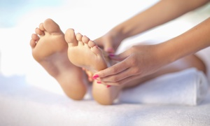 The Foot Spa: $25 for a 45-Minute Foot Massage with Hot-Stone Enhancement and Ionic Detox at The Foot Spa ($58 Value)
