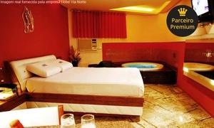 Hotel Via Norte: Hotel Via Norte – Tamarineira: período de 6 horas em 3 opções de suíte + refeição para 2 pessoas