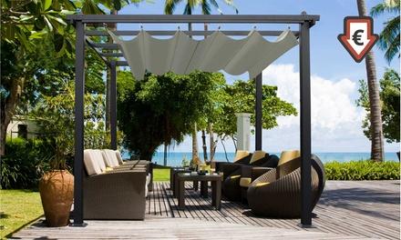 Pergola jardin et terrasse, coloris et dimension au choix, dès 229,90€