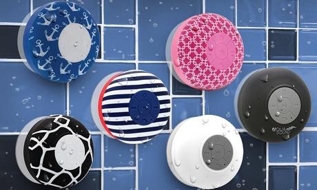 Aduro AQUA SoundBluetooth Shower Speaker with Mic and Controls