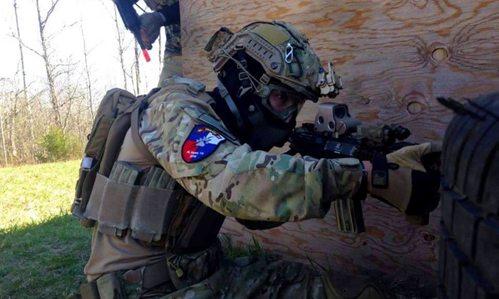 Airsoft Xtreme - New Richmond: All-Day Airsoft Play with Basic Gear for 2, 4, 6, or 10 at Airsoft Xtreme (Up to 55% Off)