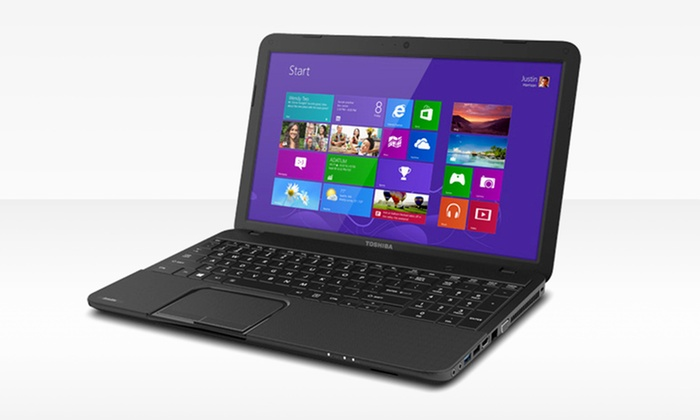 """Toshiba Satelitte 15.6"""" Widescreen Laptop: $299.99 for a Toshiba Satellite 15.6"""" Laptop (Manufacturer Refurbished) ($437.99 List Price). Free Shipping and Returns."""