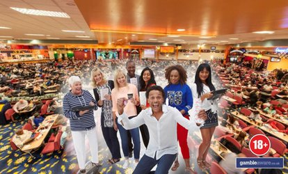 image for Up to 13 Bingo Games with a Meal and Drink for Two or Four at Beacon Bingo (Up to 79% Off)