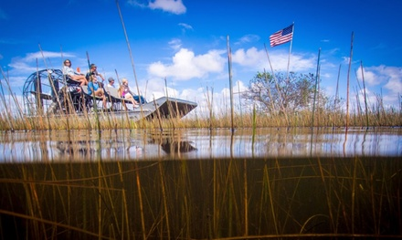 Everglades Airboat Tour for One, Two, or Four at Gator Park (Up to 18% Off)
