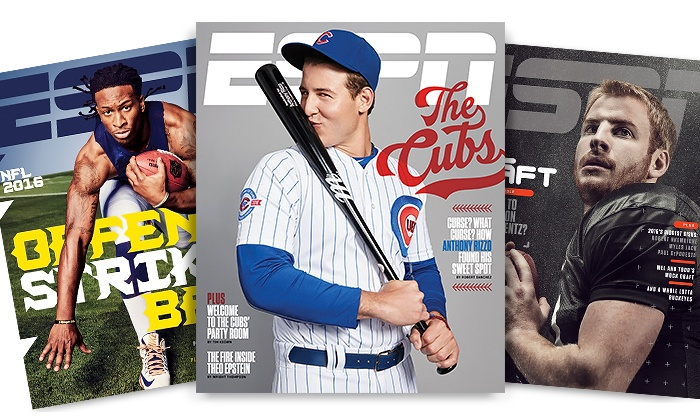 One-Year, 26-Issue Subscription to ESPN The Magazine (50% Off)