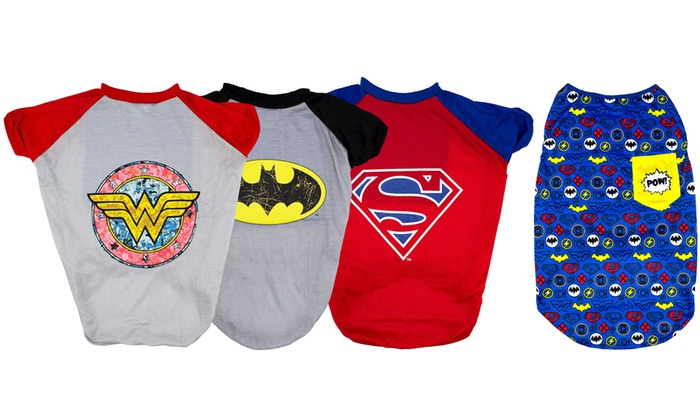 497ee26e Up To 45% Off on DC Comics Pets Top | Groupon Goods