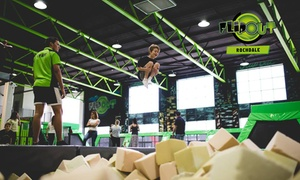 Flip Out Rochdale: One-Hour Jumping Session for Up to Four at Flip Out Rochdale (Up to 35% Off)