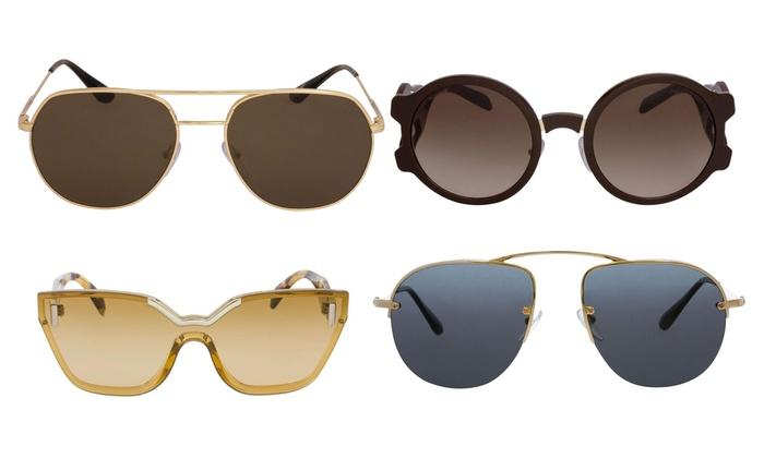 0cf37272b9f Up To 77% Off on Prada Sunglasses