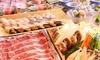 十勝彩美牛すき焼き・小樽寿司等7品+飲み放題120分