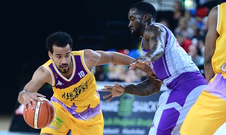 London Lions Basketball: Premium or Family Ticket to a Choice of Match at The Copper Box Arena