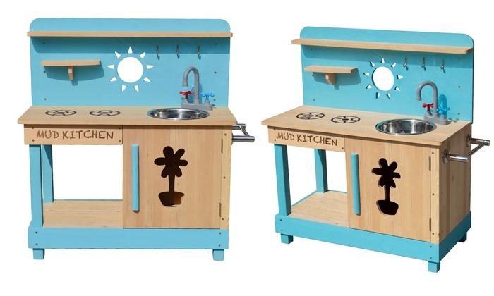 Holz-Spiel-Küche für Kinder   Groupon Goods