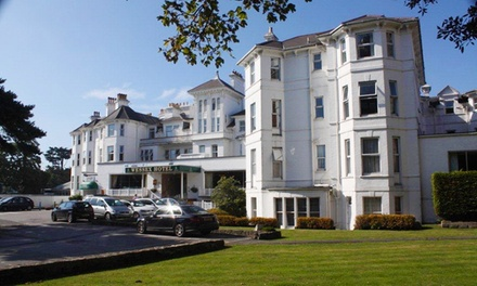 Bournemouth: 2 Nights for Two with Breakfast, Dinner, Wine, Leisure Access and Late CheckOut at the Wessex Hotel