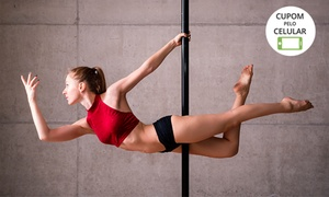 Oficina de Pilates: 1, 2 ou 3 meses de pole dance na Oficina de Pilates – Brotas