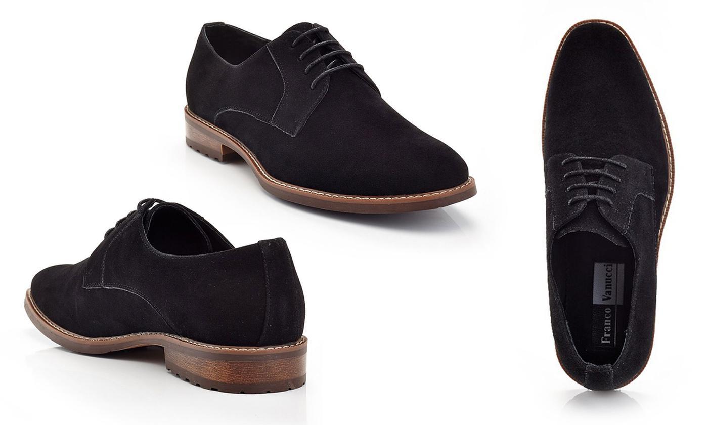 Franco Vanucci Bruno Men's Microsuede Oxford Shoes