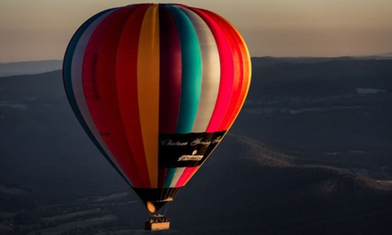 Midweek Hot Air Balloon Flight for One $279, Two $577 or Four People $1,099 with Go Wild Ballooning, Yarra Valley