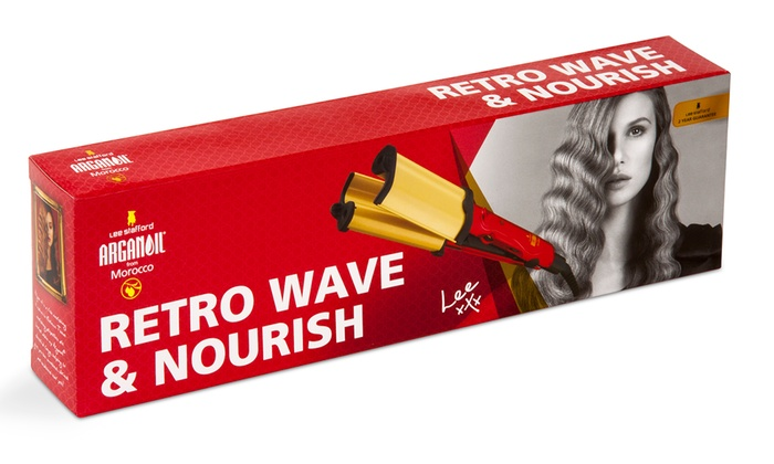 Lee Stafford Retro Nourish Waver Groupon Goods