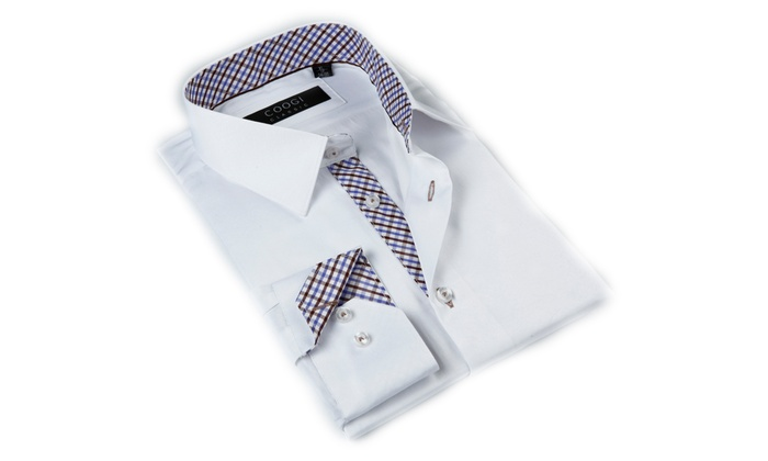 Up To 80% Off on Coogi Luxe Men\'s Dress Shirts | Groupon Goods