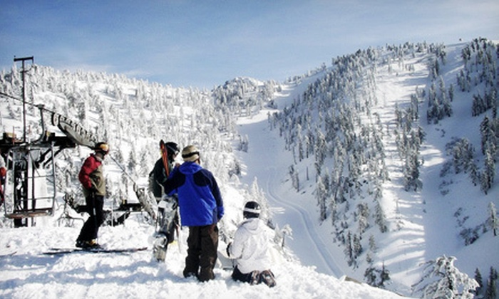 Mt. Baldy - Mt. Baldy: Season Pass or Lift Ticket with Option for Ski or Snowboard Rental to Mt. Baldy (Up to 57% Off)