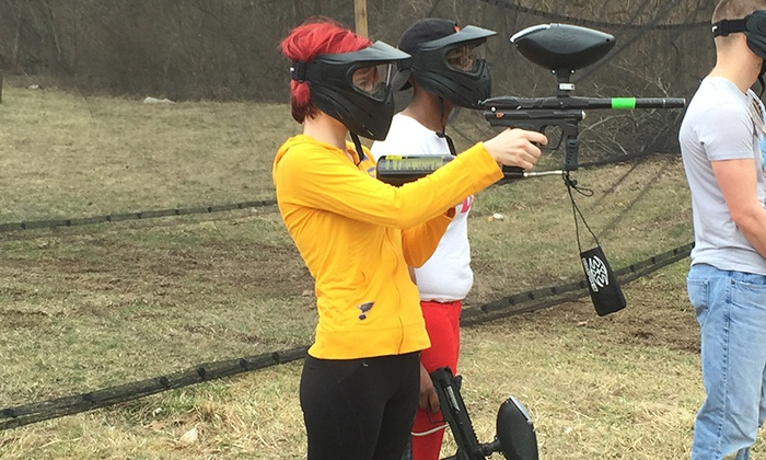 Adventure Valley - St. Louis: Paintball with Equipment for One, Two, or Four at Adventure Valley (Up to 46% Off)