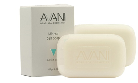 2-Pack of AVANI Mineral-Salt Soap
