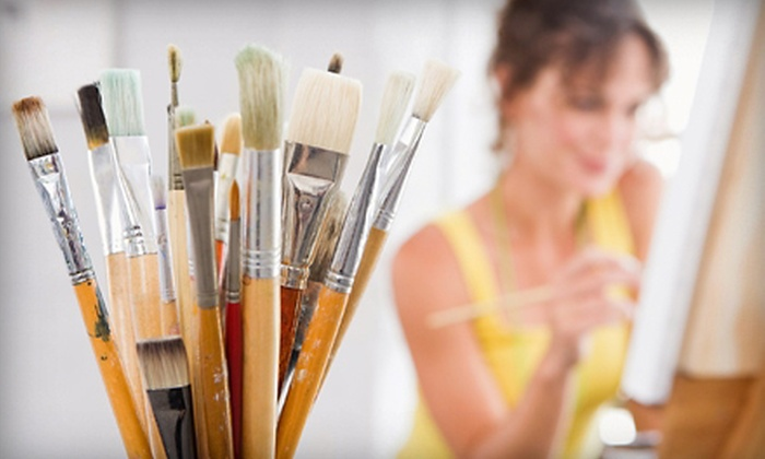 The Art Bar at Studio 1111 Photography - Hoover: Two-Hour Canvas-Painting Class for One or Two People with Supplies at The Art Bar at Studio 1111 Photography (51% Off)