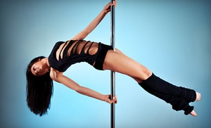 CAT Studio: 5 or 10 One-Hour Group Pole-Fitness Classes at CAT Studio (Up to 70% Off)