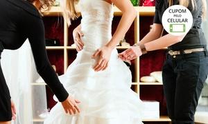 Mourão Trajes: Mourão Trajes – Santo Amaro: 1º aluguel de vestido de noiva completo a partir de 12x sem juros de R$ 208,33