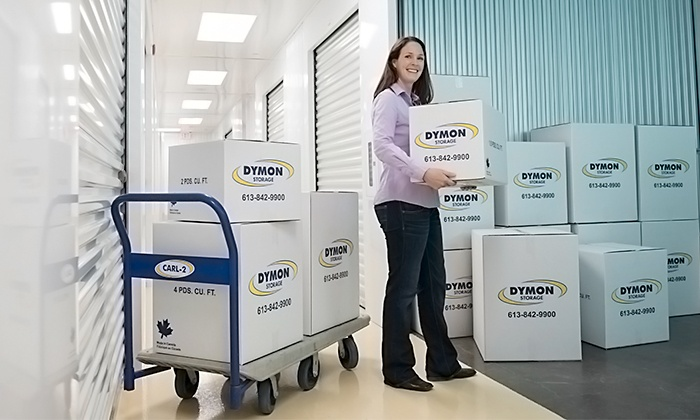 Dymon Storage- Carling - Carling at the Queensway : CC$75 for CC$300 Toward a Storage Unit Rental at Dymon Storage in Carling