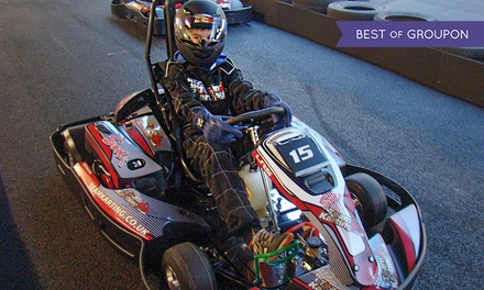 Up to 50 or 80 Laps of Go-Karting at TeamKarting