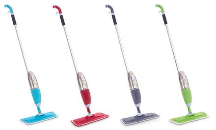 Vinsani Spray Mop with Two Microfibre Pads or One Single Additional Pad