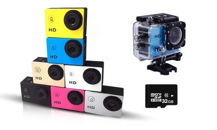 Action Cam Wifi & 4K, coloris au choix, avec micro SD en option dès 73,99€ (jusquà 75% de réduction)