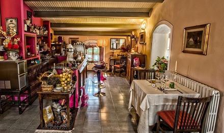 Menu 3 o 4 portate di carne o pesce con calice di vino per 2 persone ristorante La Torretta (sconto fino a 59%)