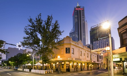 Perth: Up to 3-Night City Break for Two with Breakfast, Wine and Late Check-Out at Nightcap At Belgian Beer Cafe